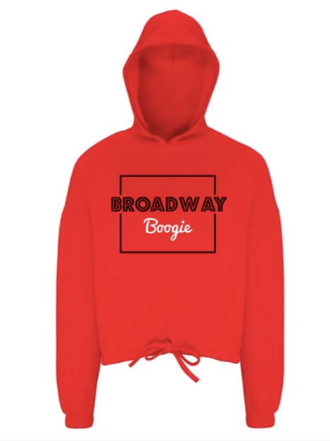Broadway Boogie Crop Hoodie