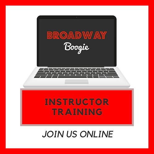 Broadway Boogie Instructor Training