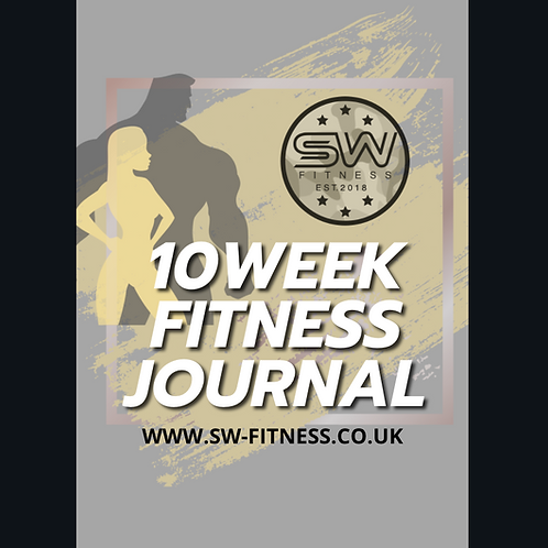 10 Week Fitness Journal - Downloadable PDF