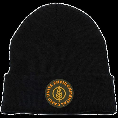 Unite Embroidery Knit Cap