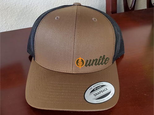 Unite Embroidery Snap Back Hat