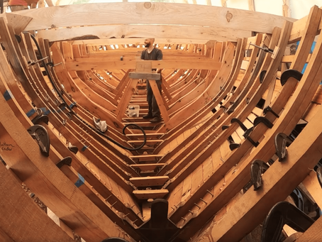 Acorn to Arabella: Boat Building, Patience, and the Skill of Addressing Failure.