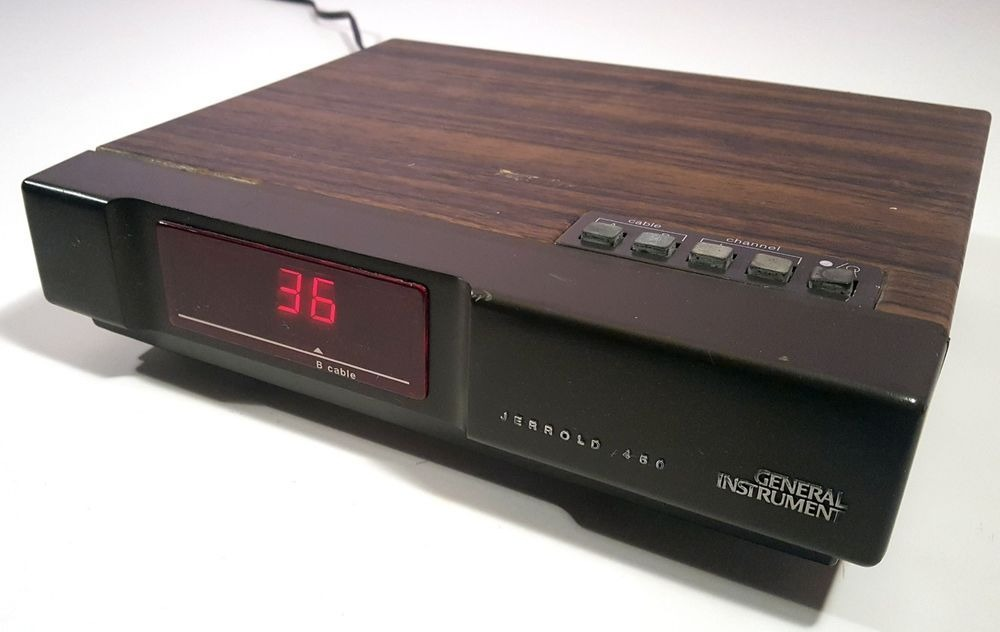 A Cable Box from the 1980's
