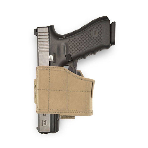 Universal Pistol Holster Zurdo Coyote Tan