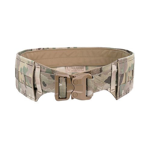 Warrior Laser Cut Low Profile Laser Belt Medium MultiCam with Plastic Cobra Webb