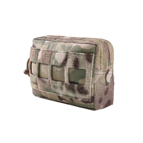 Warrior Laser Cut Small Horizontal Utility Pouch MultiCam