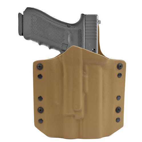 ARES Kydex Holster Glock-17/19 w-X400 Coyote Tan