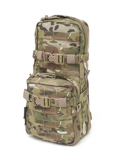 Cargo Pack con compartimiento de hidratación Multicam