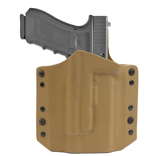 ARES Kydex Holster Glock-17 w/TLR Coyote Tan