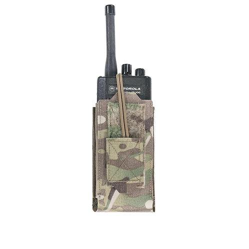 Warrior Laser Cut Adjustable Radio Pouch MultiCam