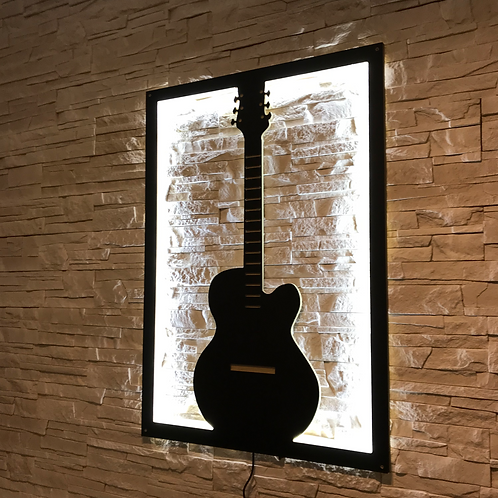 Gitara akustyczna LED