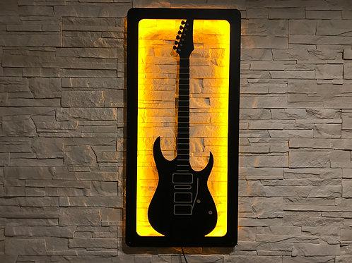 Gitara elektryczna LED