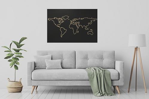 Mapa WORLD LINE
