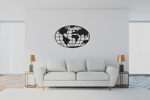 Mapa GLOBE
