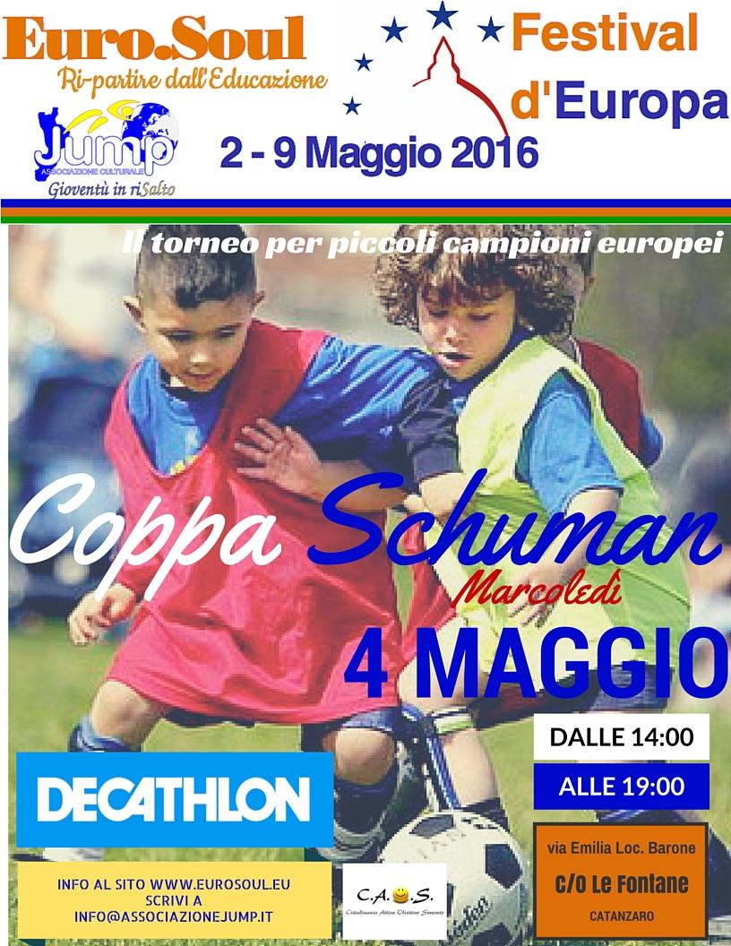 Coppa Schuman locandina 4maggio Eurosoul JPG