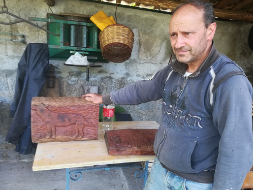 Wooden art in Calabria: artists from Satriano