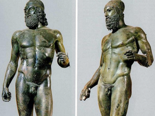 49 years since the discovery of the Riace Bronzes (460–450 BC)