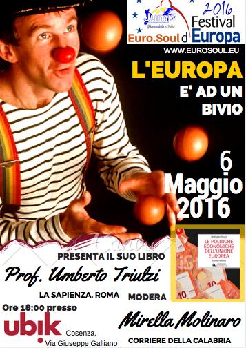6 Maggio UBIK Cosenza pres. Triulzi