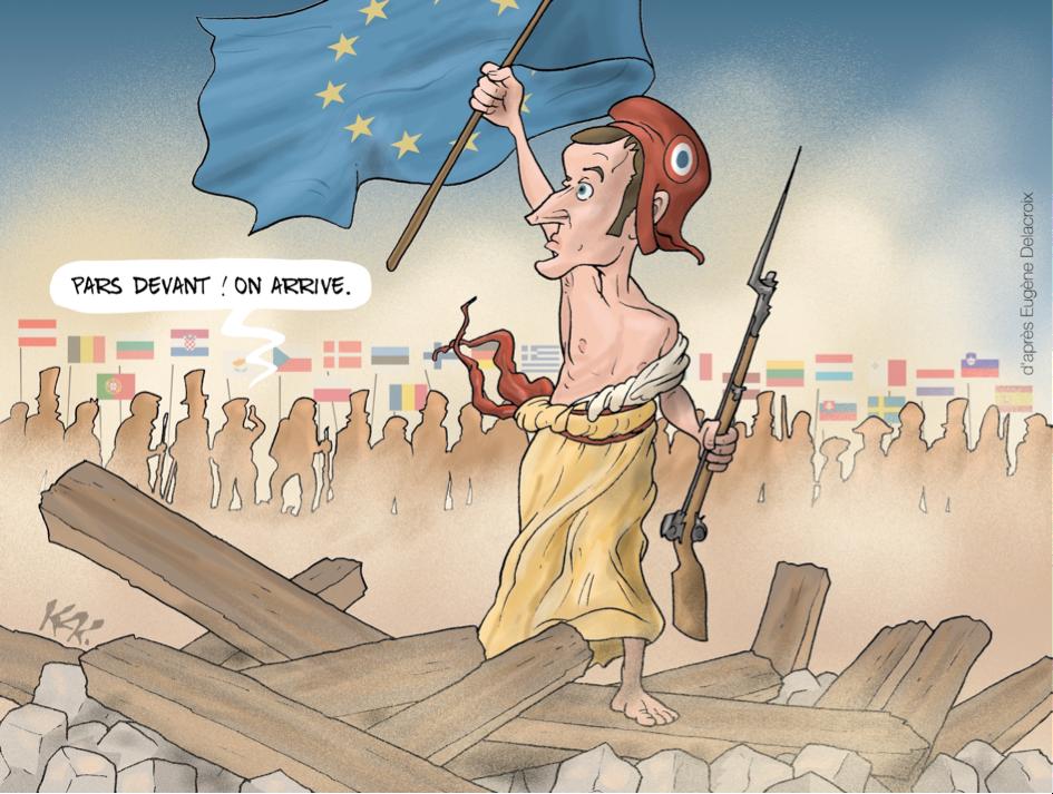 18_Stato dell'Unione-Macron-EU-©Kak (Fra