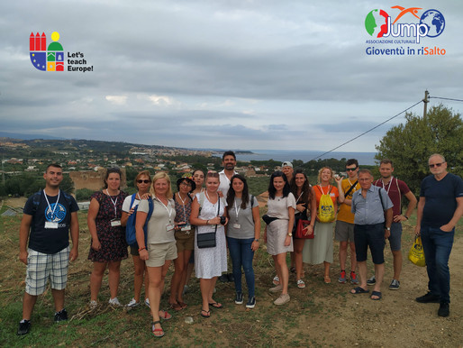 LTT1 realized in Italy! The full experience of our delegations in the Calabria region