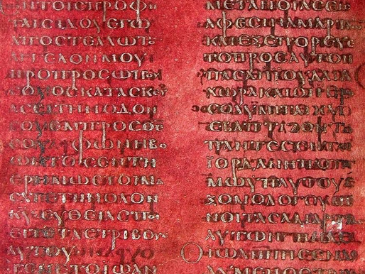 One of the oldest manuscripts of the New Testament in Calabria