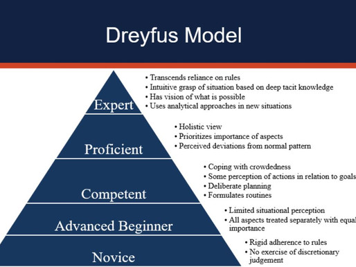 Measuring the skills development with the Dreyfus model