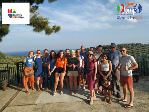 Learning Teaching Training – First day in Soverato: Mission impossible game and visit to Old Village