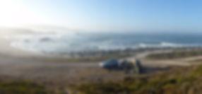 surf, zuid afrika, kamperen aan het strand