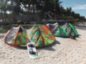 union beach, kitespot, kitesurfen borocay