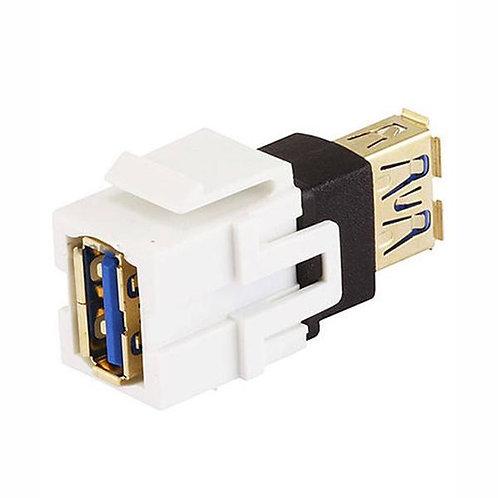 USB 3.0 A to A Female Keystone