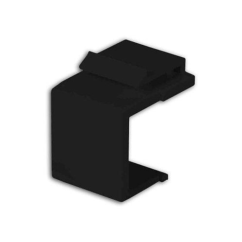 Blank Insert for Keystone Wallplate - Black
