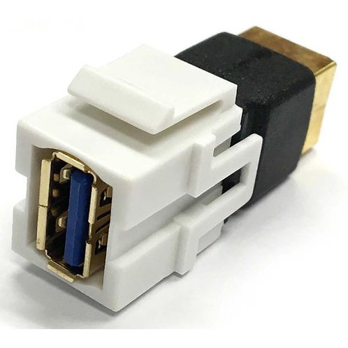 USB 3.0 A to B Keystone
