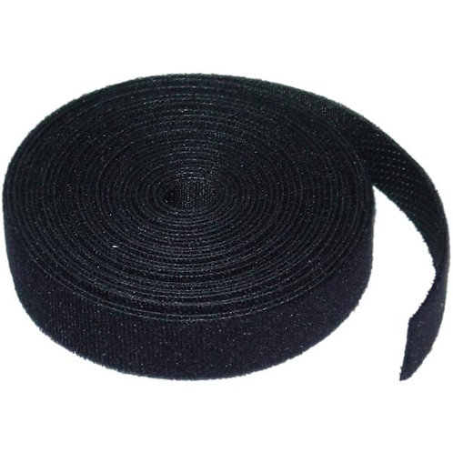 5 Yards Velcro Cable Ties - 19 mm Wide - Black