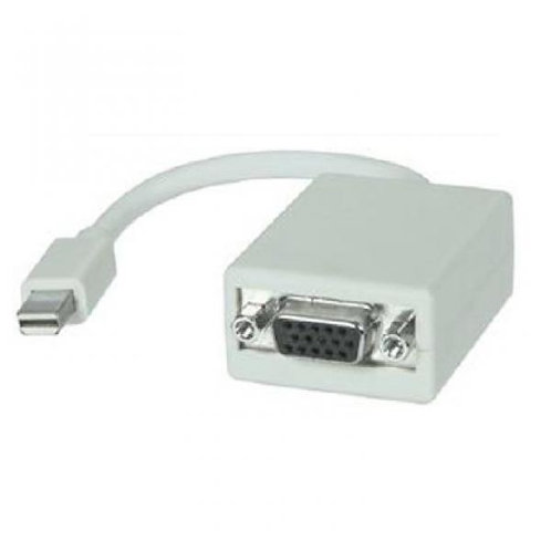Mini DisplayPort Male to VGA Female Adapter