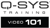 Q-SYs training - video 101 - course prof