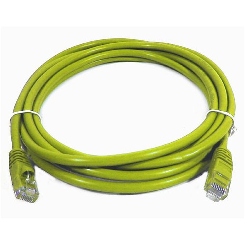 100 ft Cat5e (350 Mhz) UTP Network Cable - Yellow