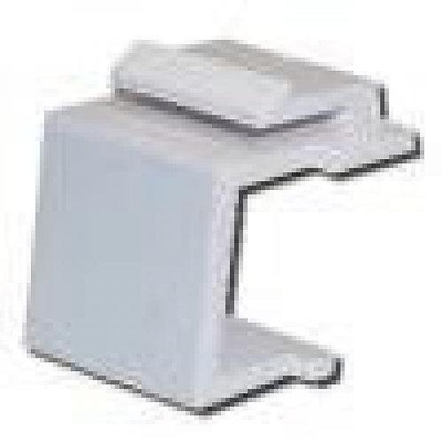 Blank Insert for Keystone Wallplate - Ivory