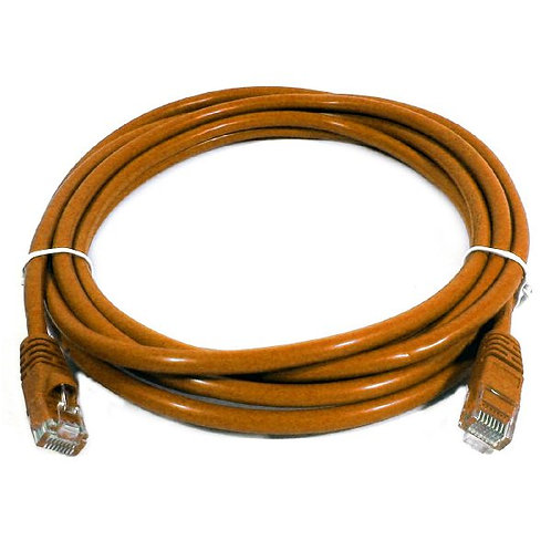 10 ft Cat5e (350 Mhz) UTP Network Cable - Orange
