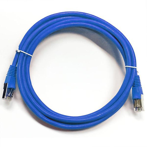 15 ft Cat5e (350 Mhz) STP Network Cable - Blue