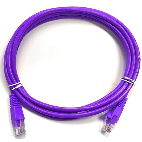 20 ft Cat5e (350 Mhz) UTP Network Cable - Purple