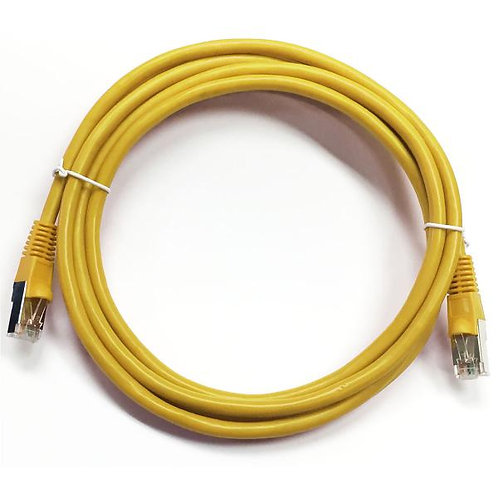 0.5 ft Cat5e (350 Mhz) STP Network Cable - Yellow