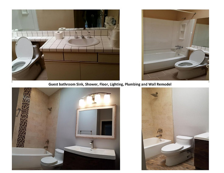 Bathroom Remodel - Champion Construction Company