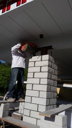 Commercial Block Columns