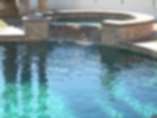 Swimming Pool and Spa done by Champion Construction Company