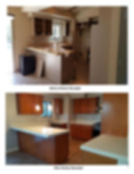 Before and After Kitchen Remodel - Champion Construction Company