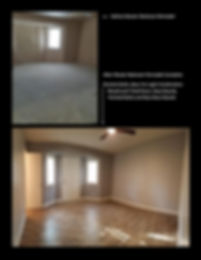 Before and After Master Bedroom Remodel - Champion Construction Company