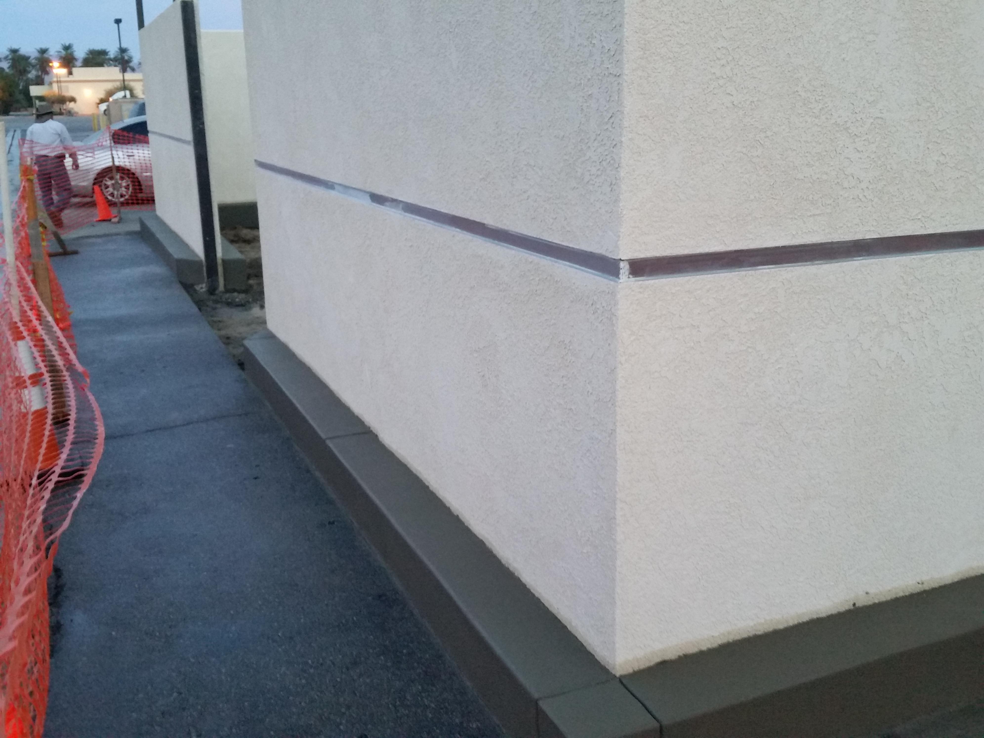 Concrete Walkway