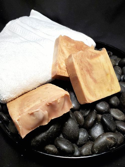 Mahogany Lager Scrub Handmade Soap