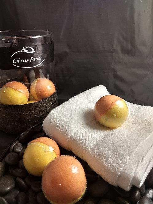 Citrus Peach Bath Bomb