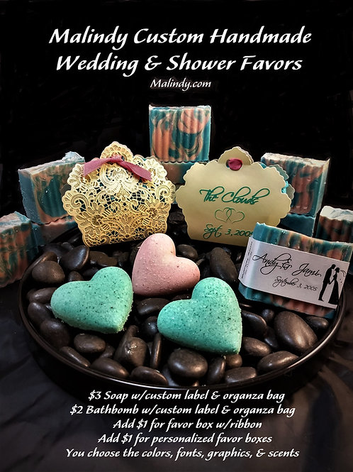 Wedding, Shower, & Party Favors and Corporate Gifts Personalized
